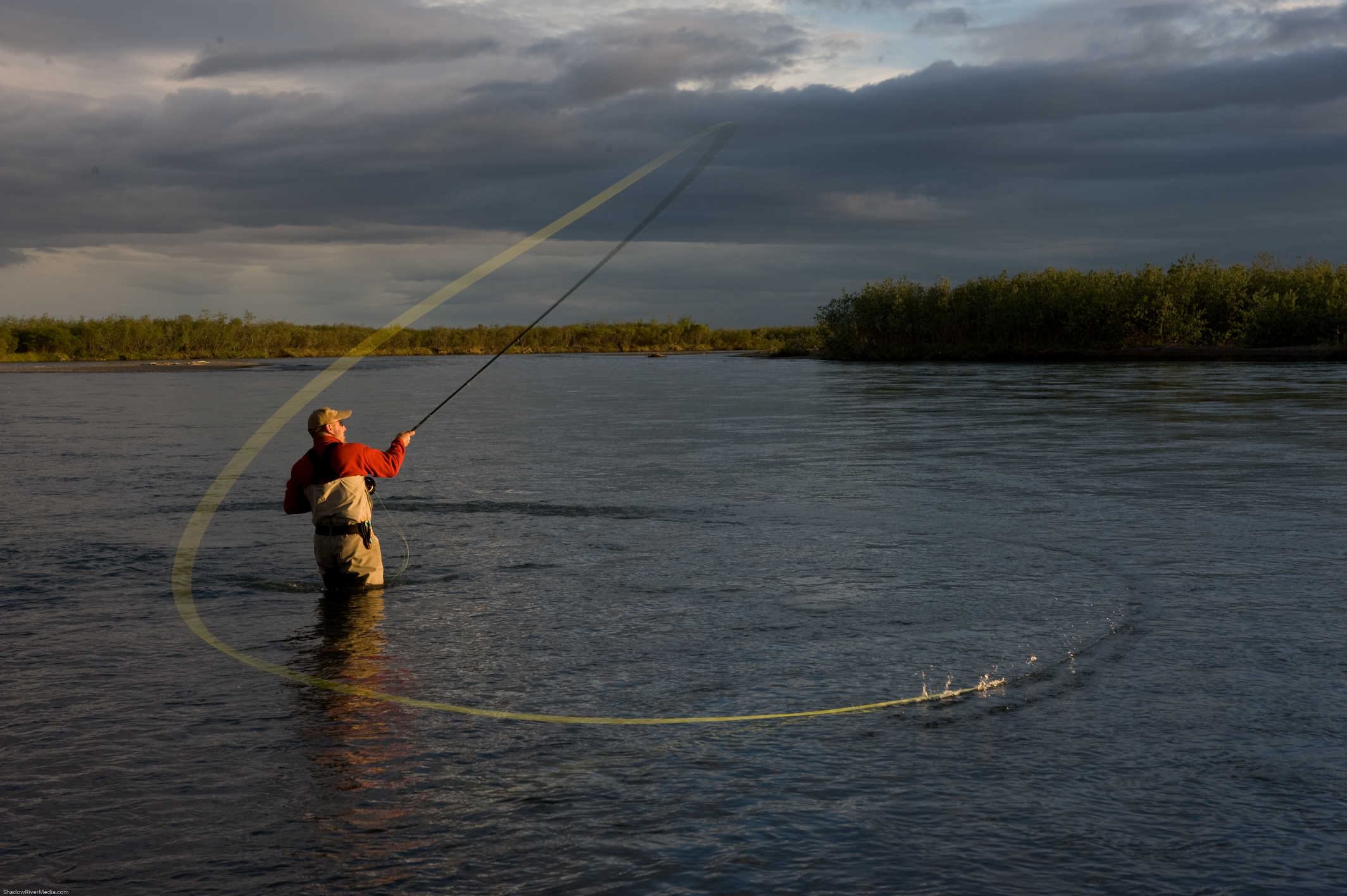 Northwest speycasting professional spey casting instruction for Fly fishing casting